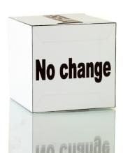 No change 2