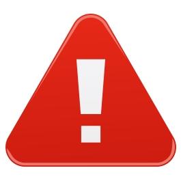 Warning sign - Illustration